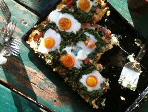 Gap Year: Breakfast Pizza