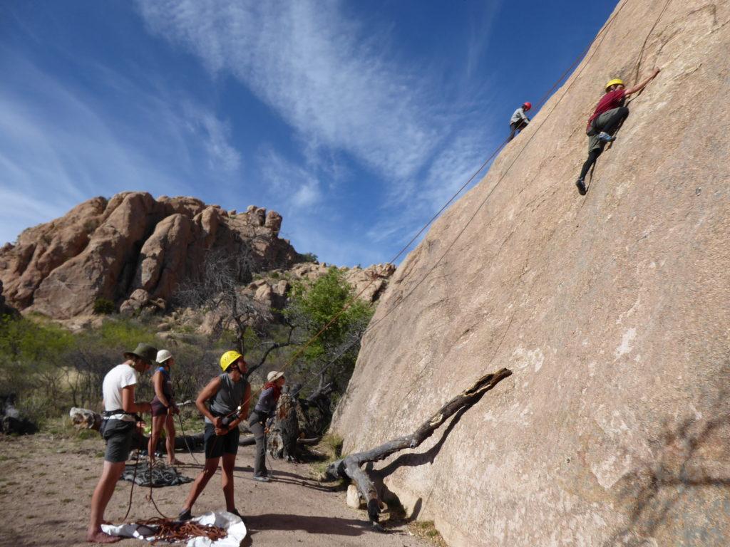 Gap Year: Cochise Climbing